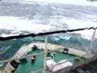 Niesamowity Sztorm na Morzu Północnym