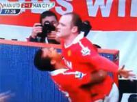 Cudowny gol Rooneya w meczu z Manchesterem City
