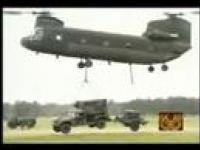 USA Military : pojazdy latające apache, blach-howk itd.