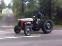 Traktor z piekła rodem