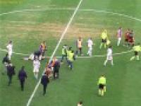 Bójka w meczu pomiędzy US Foggia a Gela Calcio (2-2).