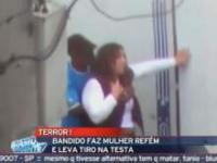 Brazylia, napastnik wziął zakładniczkę
