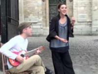 Kozacki śpiew francuskiej dziewczyny