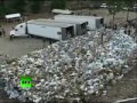 Meksyk spalili 134 tony zioła