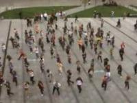 Taneczny flash Mob w Krakowie