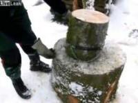 Jak efektywnie rąbąć drewno