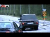 Krótka jazda Volvo 164