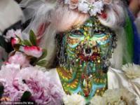 Ślub najbardziej zakolczykowanej kobiety świata