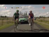 Tour de France 2011-śmieszny wypadek