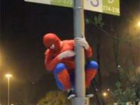 Spider-man w Warszawie