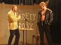 Kabaret Nieroby - Cezary Pazura i Boguslaw Linda