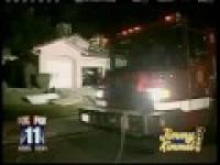 Strażak naćpał się podczas akcji.