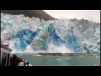 Zbyt blisko lodowca