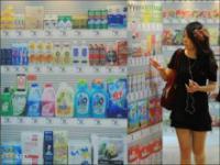 Nowoczesny koreański sklep kontra norweski tradycyjny sklep
