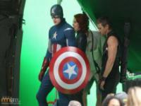 Na planie filmu Avengers II