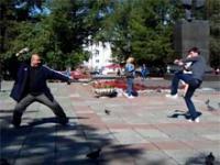 Bitwa na gołębie