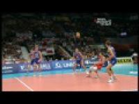 Siatkówka mężczyzn Mistrzostwa Europy 2011 - Polska - Rosja (ostatnie 6 minut)