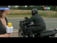 Nieuwaga Motocyklisty na drodze może zaboleć