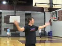 Frisbee vs. Basketball - niewiarygodne rzuty
