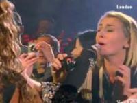 Beyonce śpiewa razem z fanami