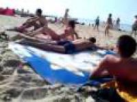 Plażowa wpadka