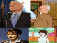 Znani ludzie jako bohaterowie kreskówek