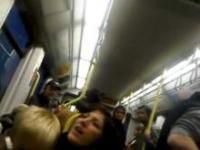 Rasistka w brytyjskim tramwaju
