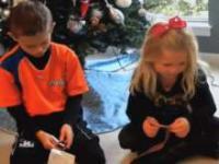 Reakcja dzieci na lipne prezenty świąteczne