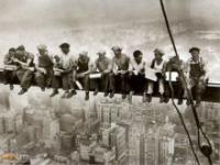 Zdjecią robotników w Nowym Jorku