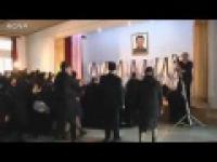 Apogeum histerii po śmierci Kim dzong ila