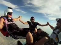 Skydive w Dubaju