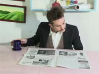Czytanie gazety dla leniwych