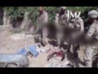 Amerykanie oddaja mocz na zabitych talibów