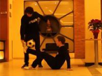 Chłopaki wymiatają z piłką