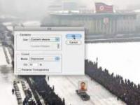 Pogrzeb przywódcy koreańskiego w Photoshopie