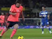 Lionel Messi nigdy się nie poddaje.