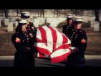 Standardowy pogrzeb amerykańskiego żołnieża