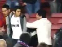 Kibic Realu zaatakowany przez fanów Barcelony na Camp Nou