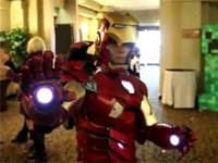 Wypasiony kostium Iron Man