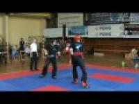 Jak drukuje się na zawodach kick boxing