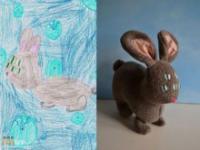 Dzieci rysują maskotki