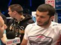 Z kim Mamed Khalidov chciałby stoczyć pierwszą walkę w UFC?