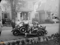 Wypadki samochodowe w latach 30