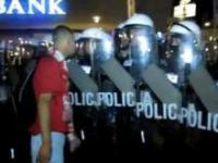 Zadyma z policją po meczu Polska-Czechy