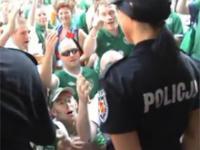 Irlandczycy kochają Polską policję