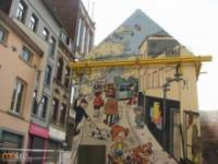 Unikalne murale w Belgii