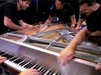 5 muzyków i tylko jeden fortepian