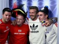Beckham niespodzianką dla fanów