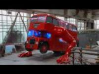 Pompkujący autobus - Londyn 2012