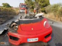 Przejażdzka pilkarza skończyła się katastrofą